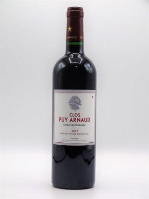 """Clos Puy Arnaud """" Les Ormeaux"""" 2014 Castillon Côtes de Bordeaux"""