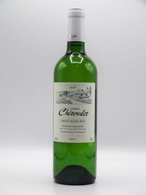 """Côtes de Gascogne """"Terres Blanches"""" 2019 Domaine Chiroulet"""