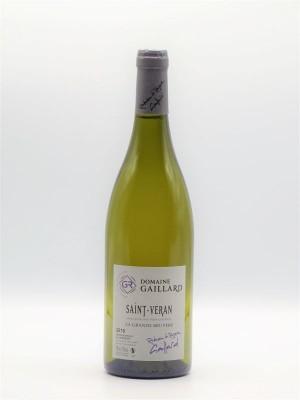 "Saint Véran ""La Grande Bruyère"" 2018 Domaine Gaillard"