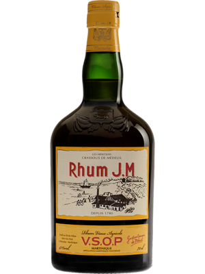 Rhum Agricole J.M. VSOP Martinique